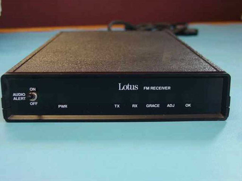 Lotus M13 FM Signal Receiver Data In: BNC - No Power Supply - AS IS