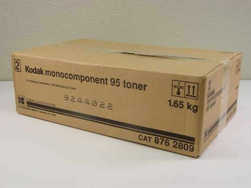 "Kodak 876 2809 BLACK Tomer - Monocomponent 95 For Ektaprint 95 ""OEM"" - 8762809"