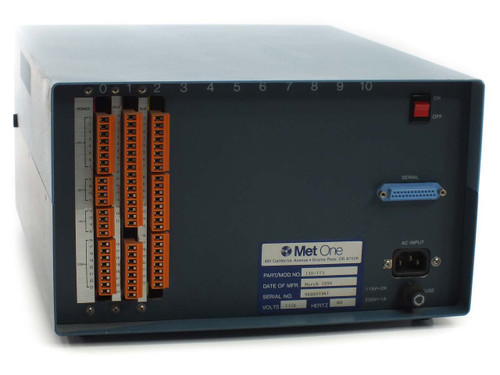Met One 130-115 Data Multiplexer with 3 Cards