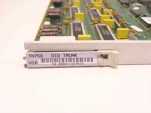 ATT Lucent TN753  8 Port DID Trunk Card