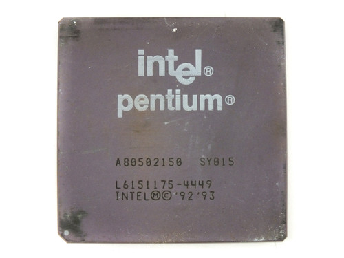 Intel SY015 P1 150Mhz Processor Socket 7 Pentium CPU - A80502150 - TESTED