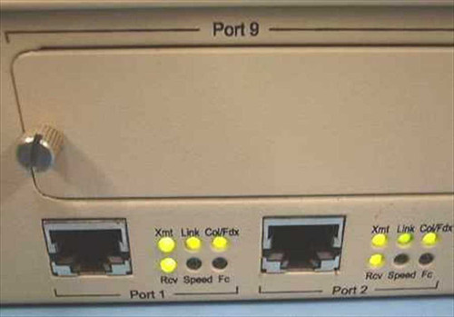 NBase Communications Mega Switch II Ethernet Switch 10/100 2012