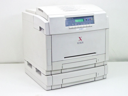 Xerox C55 Color Laser Printer / NC60 Parts - No toner, Drum or Fuser - As Is