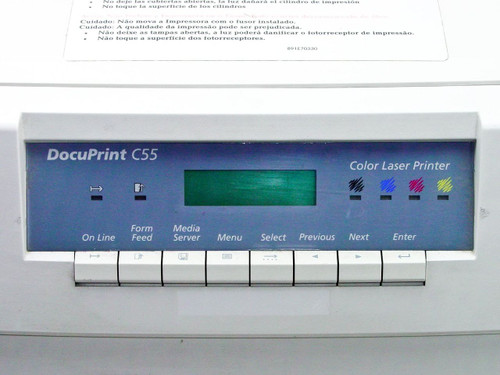 Xerox C55  Color Laser Printer / NC60 Parts - As Is