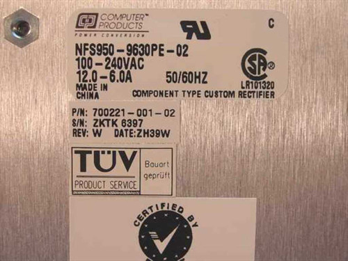Computer Products NFS950-9630PE 5001 Centillion 5000 Power Supply - 700221-001