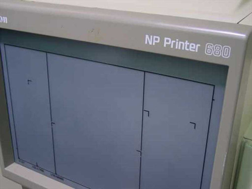 Canon M32031 NP 680 Microfiche Reader / Printer - Needs Work - As Is / For Parts