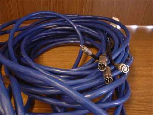 Generic 65'L  65' MIDI/BNC (M) - MIDI/DCA (F) Cable - AS IS