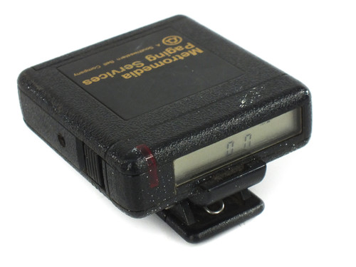 NEC R5N4-5E Radio Pager - Metromedia Paging Services - Requires AA Battery
