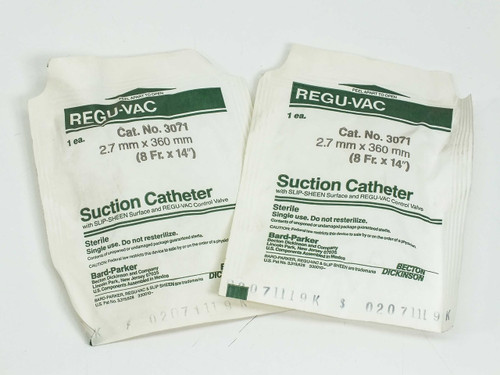 Bard-Parker Cat No 3071 2.7 x 360mm  Catheter, suction LOT OF 40