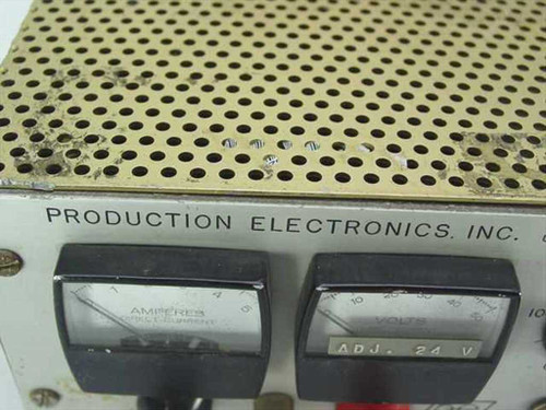 Prod Electronics, Inc. DC Power Supply, 40 V, 5 amp. LS-40/5 - AS IS