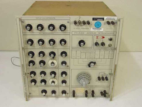Dytronics 311/RT-1/717 Electronic Test w/4-dial Kelvin-Varley divider - AS IS
