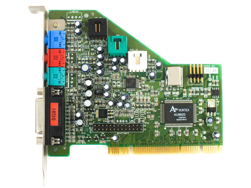Dell 07005 PCI Sound Card OEM 64-Voice - Turtle Beach Aureal Vortex AU8820B2