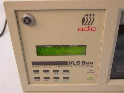 ADIC 8mm Autoloader Tape Drive No Drive  VLS-8MM