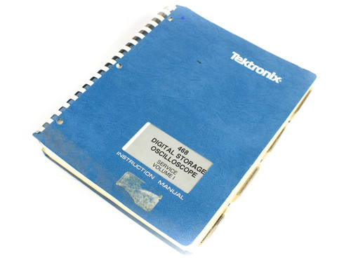 Tektronix 070-3515-00 468 Digital Storage Oscilloscope - Service Manual Vol I