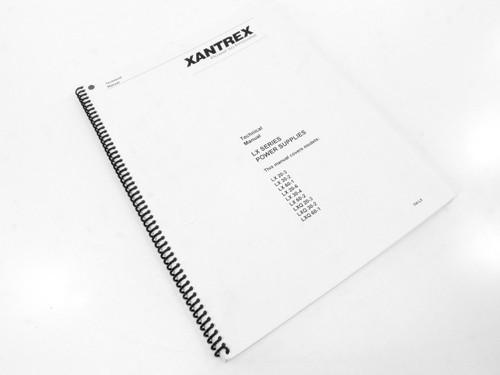 Xantrex TM-LX LX Series Power Supplies - Technical Manual