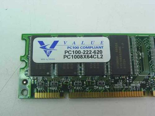 Unbranded 64MB 64MB 8MX64 100 MHz SDRAM Memory