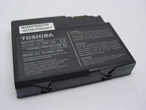 Toshiba PA3209U-1BRS Satellite 1110 LI-Ion 14.8 V 3900mAh Laptop Battery