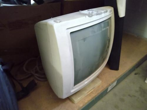 """Xerox XJ-493 17"""" Terminal for T22 - TQF80809 TQF81826-1 - Vintage 1987 - As Is"""
