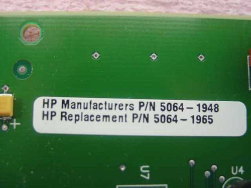 HP 5064-1965 LXR Pro System Management PCBA card 5064-1948