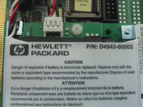 HP Netraid PCI Controller Card (D4943-60002)
