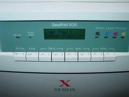 Xerox DocuPrint NC60 Color Network Laser Printer - As Is