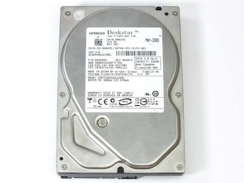 "Hitachi 0A36894 320GB 3.5"" Deskstar 7200 RPM SATA Internal Hard Drive"