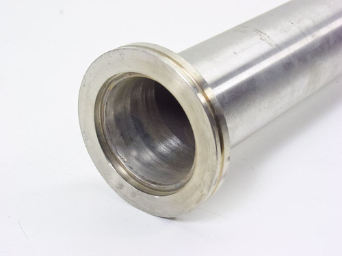 """Stainless Steel 50""""  Tubing 2.5 in. OD by 0.065 in. Wall, NW63 Flange"""