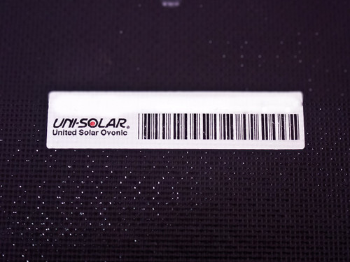 "Uni-Solar PVL-128B 128W 24V Brand New Flexible Amorphous Solar Panel - 4"" Wires"