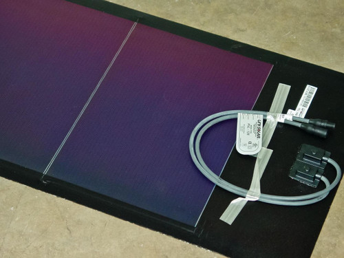 Uni-Solar PVL-128 128 Watt 24 Volt Brand New Flexible Amorphous Solar Panel MC3