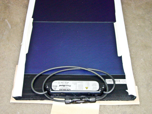Uni-Solar ePVL-144T 144 Watt 24 Volt Solar Panel - PowerBond Flexible - MC4