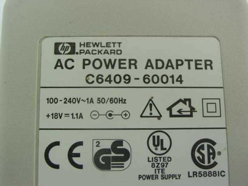 HP 18V 1,1A AC Power Adapter for Printer (C6409-60014)