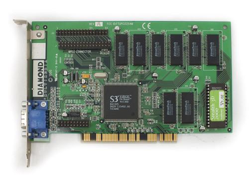 Diamond 23033220-405 4MB PCI Video Card - Stealth 3D 2000 S3 Virge 86C325 N1C3BD