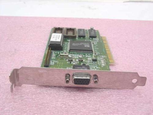 ATI 113-32114-104 WinCharger 1MB PCI VGA Video Card 109-32100-20 1023212421
