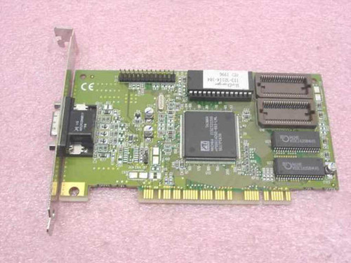 ATI 113-32114-104 WinCharger 1MB PCI VGA Video Card 109-32100-20 1023212421
