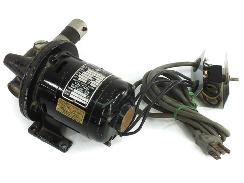 "Bodine Electric NSI-12RG Gearmotor 11.5 RPM 115 VAC 0.8 Amp 1/50 HP 0.5"" Shaft"