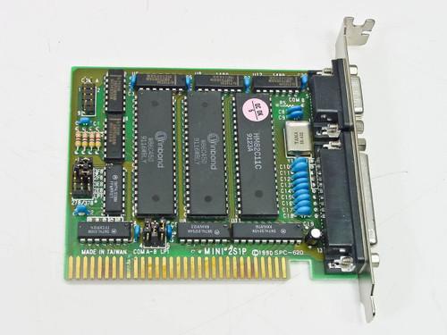 80 DATA  Mini 2S1P   ISA 8 Bit I/O Card