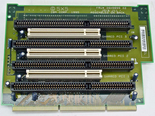IBM 06H9086 3 PCI 4 ISA Riser Card for PC350/750 Desktop Computers
