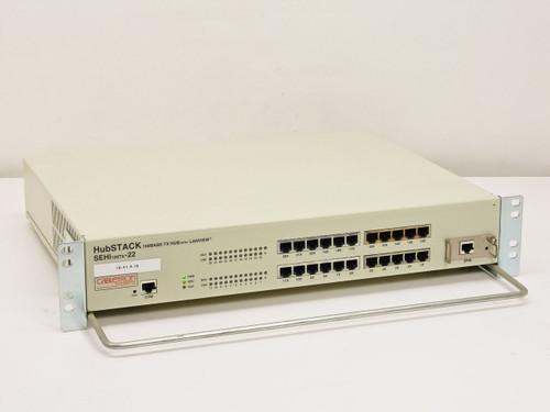 Cabletron HubStack 100Base-TX HUB with Lanview SEHI100TX-22