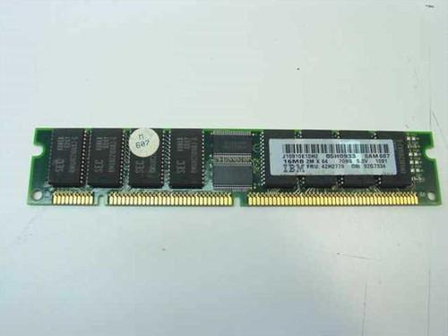 IBM 16MB Memory Non-Parity 168 pin DIMM 42H2779