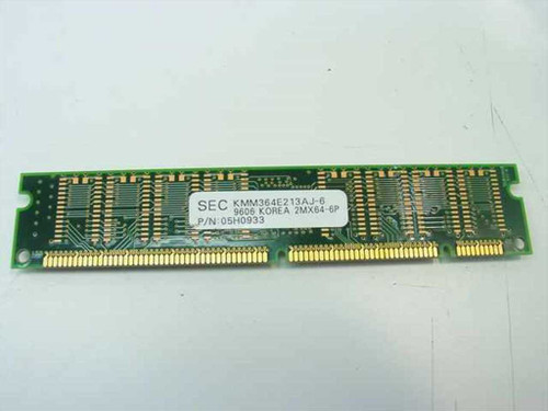 IBM 16MB Memory Non-Parity 168 pin DIMM 42H2779