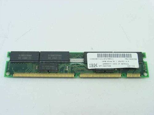 IBM 16MB Memory Parity 168 pin DIMM 42H2783
