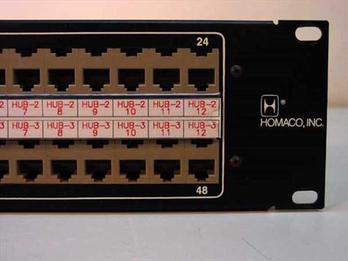 Homaco, Inc Homaco Modular Jack Panel MJP19-4-25CRE