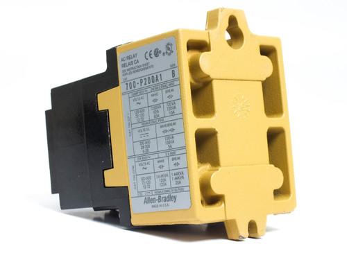 Allen-Bradley Bulletin 700 115-120 Volt Type P Contact AC Relay (700-P200A1)
