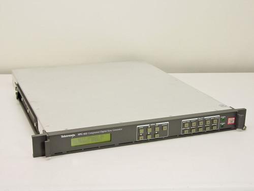 Tektronix SPG 422  Component Digital Sync Generator