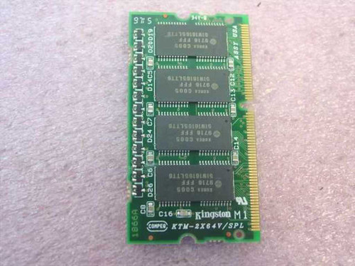 Kingston 16MB Toshiba Laptop Memory PA2039U 500CDT KTT-650/16