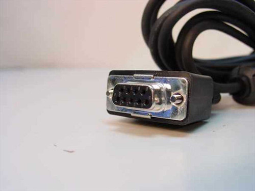 Black  DB9 to Large Connection Cable (6 Foot)