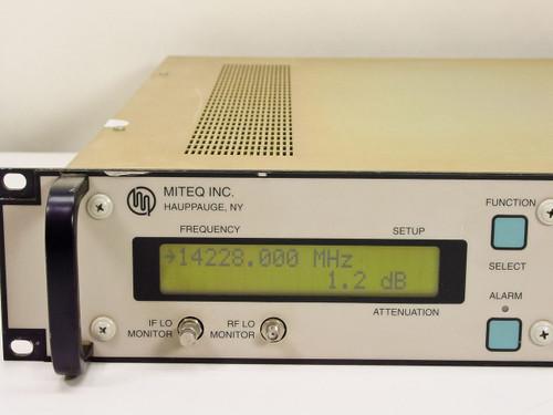 Miteq  U-9456-3-58262  Upconverter Freq. 70 MHz/14 GHz