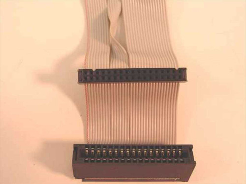 Vintage 1.44/5.25 Dual Floppy Ribbon Cable 34 Pin / Slot (Ribbon Cable)