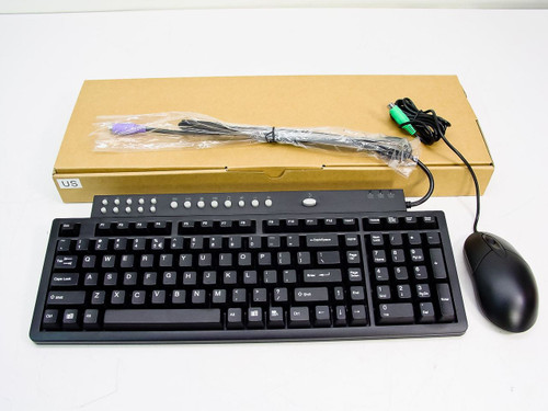 Scorpius LIV BLACK PS/2 Multimedia Keyboard with Lynx L8A Mouse