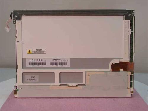 "Sharp 12.1"" LCD Display Toshiba Tecra 550CDT P000230780 LQ12X43"